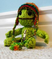 Sackboy In Lime by dinn