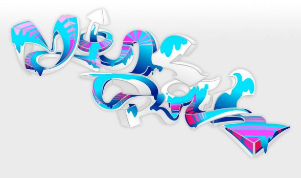 3D graff by Zillion