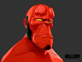 Hellboy by mox3d