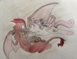 Phoneix meets Rodan (story) by FallenAngel5414