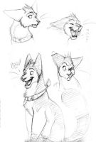 Tryan sketches by tigrin