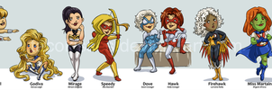 Super Ladies P2 by tacokisses