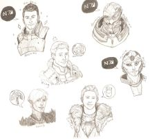 Bioware Hotties by xPoison-StitchesX