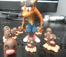 """Diglett Invasion"" by FierceTheBandit"