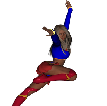 Supergirl takes flight (Gen 3) by TheCometRay