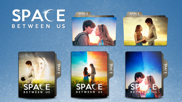 The Space Between Us Folder Icon by faelpessoal