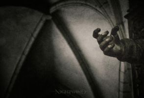 hand of god... by NightAndWind