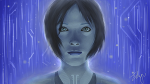 Cortana by Nylse