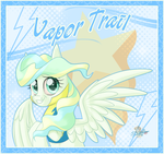 Vapor trail by UniSoLeiL