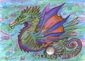 ACEO Dragon 08 by rachaelm5