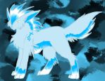 Ice Wolf Demon by Sunset-Firefly