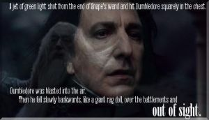 Dumbledore's death by H-Lawliet