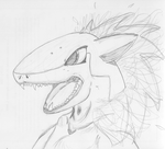 Realistic Anthro Typhlosion by Agentwolfman626