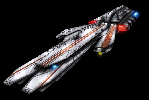 Damacles class colored enhanced lighting by Darkrelams1
