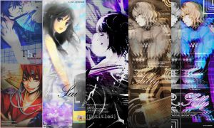 GazettE Inspired Pack 3 by Mio-Alice Lee/Yukkun by AliceTribe