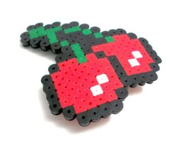 8 Bit Cherry by GeekyGamerShop