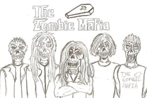 The Zombie Mafia by MacabreMajesty