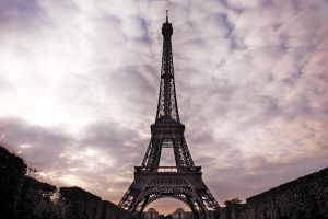 The Eiffel Tower by pantoneCoated032