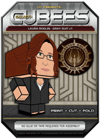Laura Roslin - Gray Suit by BSG75