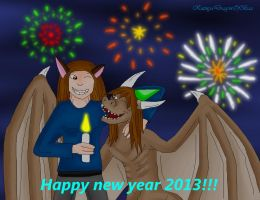 Happy new year 2013! by Dreamer-In-Shadows