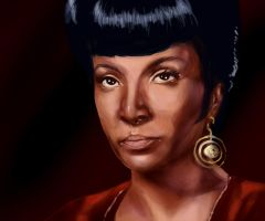 Star Trek: Uhura by Spiritius