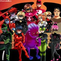 Miraculous Ladybug - School of Heroes and Villains by SonicPossible00