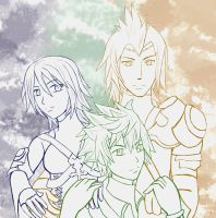 KH: Aqua, Ventus and Terra by Tora20