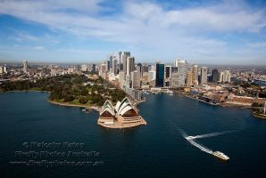 Opera from the Air by FireflyPhotosAust