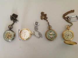 Pocket watch collection by drawing425