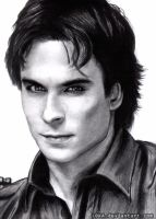 Damon Salvatore by L0KA