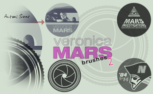 Veronica Mars Brushes 2 by Cammerel