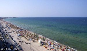 Sousse beach by leire-and-Co