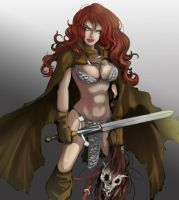 Red Sonja by EUDETENIS
