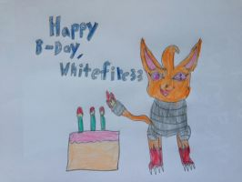 3rd Birthday Drawing for Whitefire33 by nintendolover2010