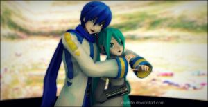 Request 02   MikuxKaito by ElyStrife