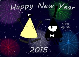 .:. Happy New Year  2015 .:. by Rise-Of-Majora
