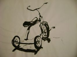 Bicycle by Domino7Morris