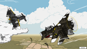 Fierce Dogfighting V1 by dan338