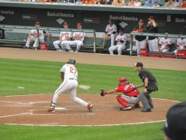 Camden Yards- Vlad Guerrero by DoINeedToKnow