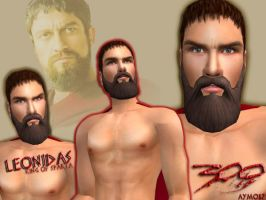 Sims 2: Leonidas by aymo87