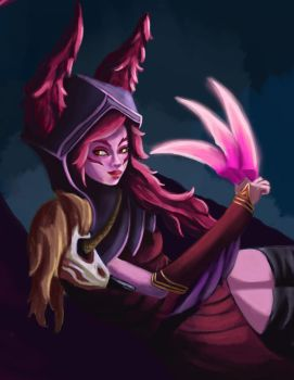 Xayah by chillmigo