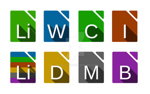 Libreoffice New Icons Showcase by JohnnyChin