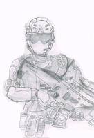 Black Ops 2: DEVGRU/Seal Team 6 soldier by Amethyst-Star-MLP