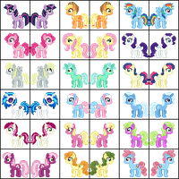My Little Pony Sprites by Angelkitty17