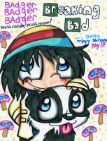 Badger Badger MUSHROOM!! xD by Violent-Rainbow