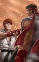 Street Fighter - 25 Years of History by MichaelMayne