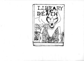 Library of Death by Caelcutter