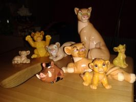 Lion King Ornaments!  by Daniellee14