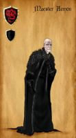 Maester Aemon by serclegane