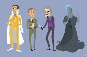 Flo's favorite villains by flominowa